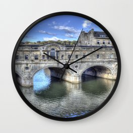 Pulteney Bridge Wall Clock