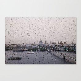 Rainy St. Paul's Canvas Print