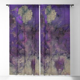 Alcohol Ink 'The Storybook Series: Arabian Nights' Blackout Curtain