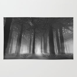 Soul of the Forest B&W Rug