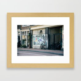 Streets of Amsterdam Framed Art Print