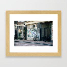 Streets of Amsterdam Framed Art Print