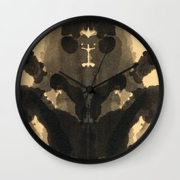 Cute Blot Wall Clock