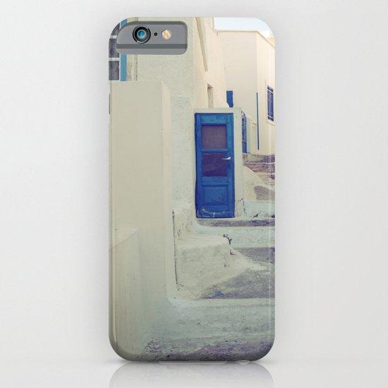 Santorini Door III iPhone & iPod Case