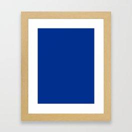 Air-Force-Blue Framed Art Print