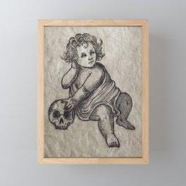 The Cherub Framed Mini Art Print