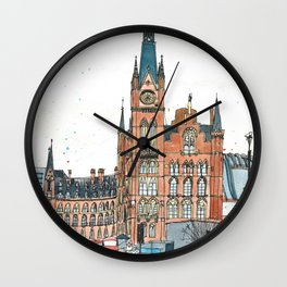 St Pancras railway station, London Wall Clock
