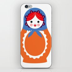 Matrioska-003 iPhone & iPod Skin