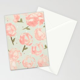 Syana's Cabbage Roses Stationery Cards