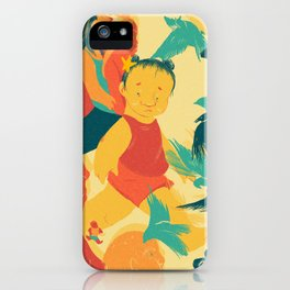 And A Little Girl Who Only Wished To Fly iPhone Case