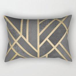 Art Deco Geometry 1 Rectangular Pillow
