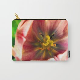 Pink Tulip #2 Carry-All Pouch