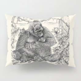 Koko Love Graphite Drawing Pillow Sham