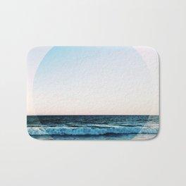 Vibrant Sea Horizon Bath Mat