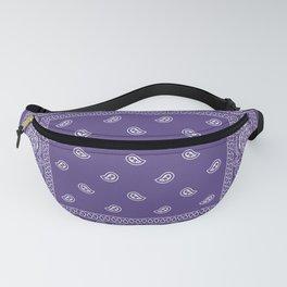 Bandana - Southwestern - Ultra Violet Fanny Pack