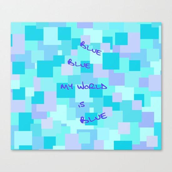 Aquasquare Cubed Canvas Print