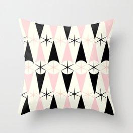 Harlequin Starburst Throw Pillow