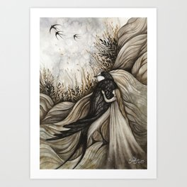 Tommelise Art Print