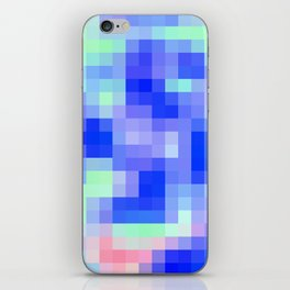 Re-Created Colored Squares No. 54 iPhone Skin