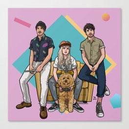 After Laughter Canvas Print