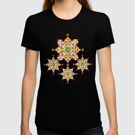 Rainbow Carousel Starburst T-shirt