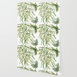 Butterflies In Flowers Wallpaper