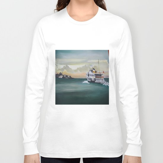 Ferry İstanbul Long Sleeve T-shirt