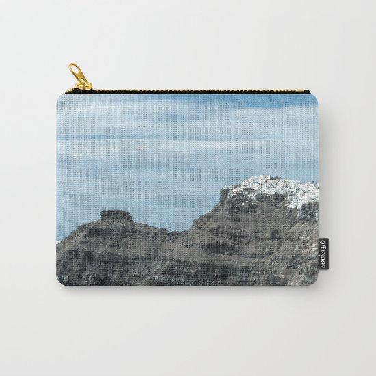 Santorini, Greece 16 Carry-All Pouch
