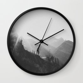 THE MOUNTAINS IX / North Cascades Wall Clock