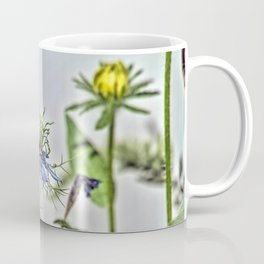 Blue Nigella Coffee Mug