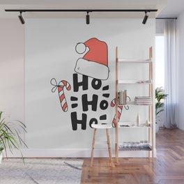 Ho Ho Ho! Santa Claus is coming to town Wall Mural