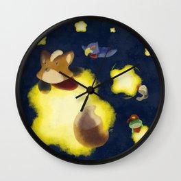 Stellar Vulpine Wall Clock