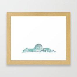 Adler Planetarium Framed Art Print