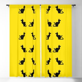 Angry Animals: Cat Blackout Curtain
