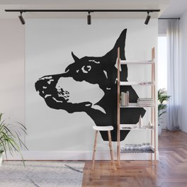 Doberman  Dog Wall Mural