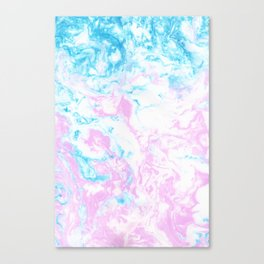 Marbling Canvas Print