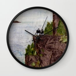 Painting on the Edge Wall Clock
