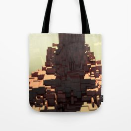 Temple nature structure outdoors mountain landscape beautiful illustration Tote Bag