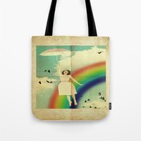 dorothy Tote Bags featuring Dorothy by Robin Curtiss