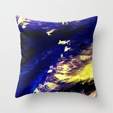 Abstract Midnight Dancer by Robert S. Lee  Throw Pillow