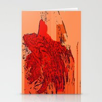 lion king Stationery Cards featuring Lion King by Avigur