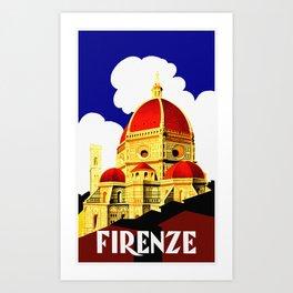 Firenze - Florence Italy Travel Art Print