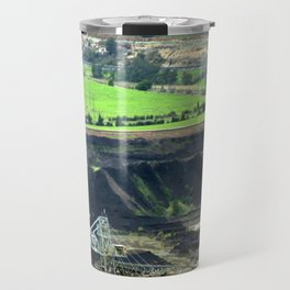 Black Coal ~ World's Contaminator  Travel Mug