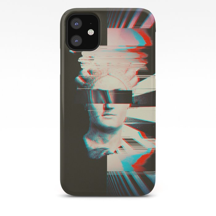 Glitch iphone 11 case
