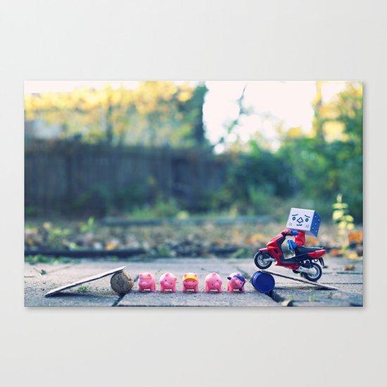Sweet Jump Canvas Print