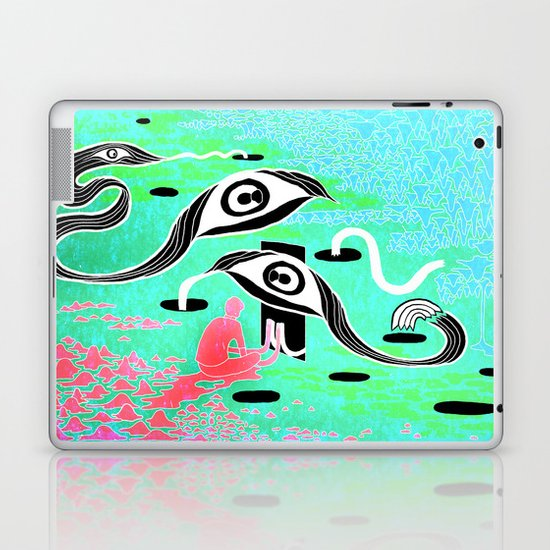 """The Terror"" by Steven Fiche Laptop & iPad Skin"
