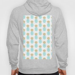 Elegant faux gold pineapple pattern Hoody
