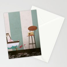 Soaked and Sleepy Stationery Cards