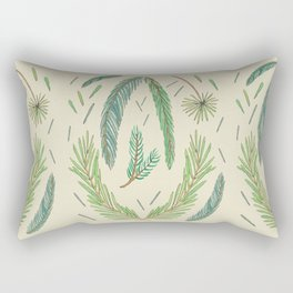 Pine Bough Study Rectangular Pillow