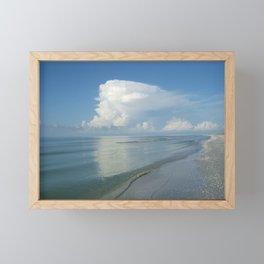 Serene Sanibel Seascape Framed Mini Art Print